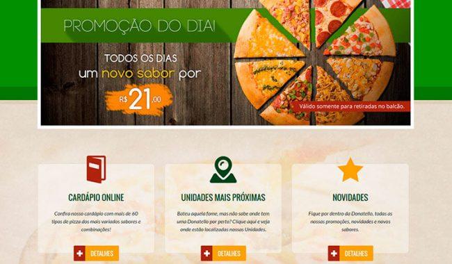 Donatello Pizzarias