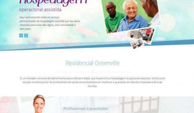 Portfolio Site Residencial Geriátrico Greenvile